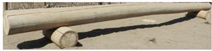 白糸イメージ6:丸太の平均台1